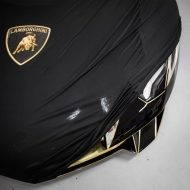 black on black lamborghini aventador sv folierung 81 190x190 Lamborghini Aventador SV in Gold / Chrom by Team Salamone