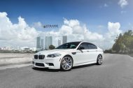 bmw f10 m5 1 tuning new 1 190x126 BMW F10 M5 V8 mit 20 Zoll Strasse R10 Wheels