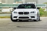 bmw f10 m5 1 tuning new 4 190x127 BMW F10 M5 V8 mit 20 Zoll Strasse R10 Wheels