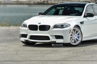 bmw f10 m5 1 tuning new 6 190x127 BMW F10 M5 V8 mit 20 Zoll Strasse R10 Wheels