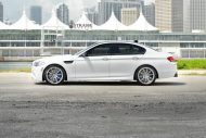 bmw f10 m5 1 tuning new 8 190x127 BMW F10 M5 V8 mit 20 Zoll Strasse R10 Wheels