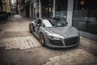 brixton forged m53 targa series audi r8 v10 grey 1 190x127 20 Zoll Brixton Wheels in Bronze am Audi R8 V10