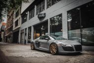 brixton forged m53 targa series audi r8 v10 grey 2 190x127 20 Zoll Brixton Wheels in Bronze am Audi R8 V10