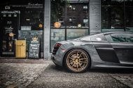 brixton forged m53 targa series audi r8 v10 grey 3 190x127 20 Zoll Brixton Wheels in Bronze am Audi R8 V10