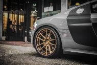 brixton forged m53 targa series audi r8 v10 grey 6 190x127 20 Zoll Brixton Wheels in Bronze am Audi R8 V10