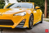killer scion fr s with trd kit gets bronze vossen wheels 1 190x127 Vossen Wheels VFS 2 (VFS2) am Scion FR S in Knallgelb