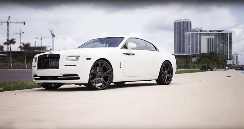 mc customs rolls royce wraith 1 Rolls Royce Wraith Coupe mit 24 Zoll Vellano VM19 Wheels