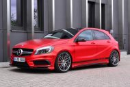 mercedes benz a45 amg gets wrapped folienexperte 11 190x127 Mercedes Benz A45 AMG   Tuning by Folien Experte