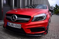 mercedes benz a45 amg gets wrapped folienexperte 2 190x127 Mercedes Benz A45 AMG   Tuning by Folien Experte