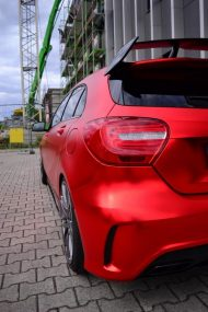 mercedes benz a45 amg gets wrapped folienexperte 3 190x285 Mercedes Benz A45 AMG   Tuning by Folien Experte