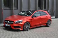 mercedes benz a45 amg gets wrapped folienexperte 4 190x127 Mercedes Benz A45 AMG   Tuning by Folien Experte