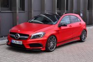 mercedes benz a45 amg gets wrapped folienexperte 5 190x127 Mercedes Benz A45 AMG   Tuning by Folien Experte