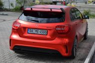 mercedes benz a45 amg gets wrapped folienexperte 8 190x127 Mercedes Benz A45 AMG   Tuning by Folien Experte