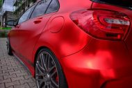 mercedes benz a45 amg gets wrapped folienexperte 9 190x127 Mercedes Benz A45 AMG   Tuning by Folien Experte
