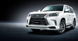modellista has a wide body kit for the 6 310x165 Modellista Wide Body Kit am 2016er Lexus LX 570