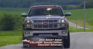video testbericht callaway sc560 310x165 Video: Testbericht   Callaway SC560 Rocky Ridge Special Edition Chevrolet Pick Up