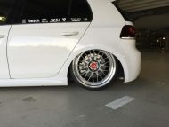 vw golf edition 35 new pics lv1 7 190x143 mbDesign VW Golf 6 GTI R mit 8,5x19 ET45 LV1 Felgen