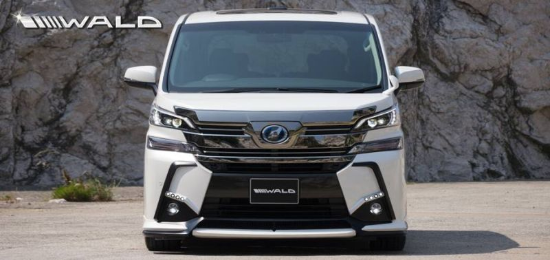wald international s exterior kit for the toyota vellfire 11 Toyota Vellfire im brutalo Outfit by Wald Internationale