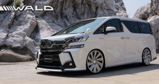 wald international s exterior kit for the toyota vellfire 2 310x165 Toyota Vellfire im brutalo Outfit by Wald Internationale