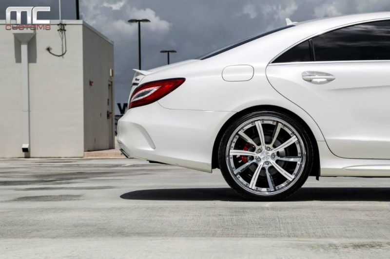 11046251 776197849164446 8395670946421964270 o Mercedes Benz CLS 400 mit AG Wheels by MC Customs