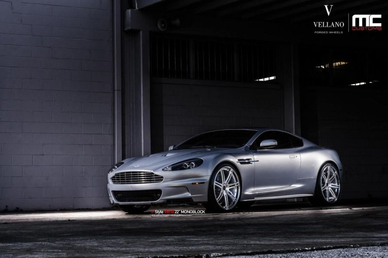 11223865 1001198776589535 5550369717324529698 o 22 Zoll Vellano Forged Wheels VM10 am Aston Martin DBS