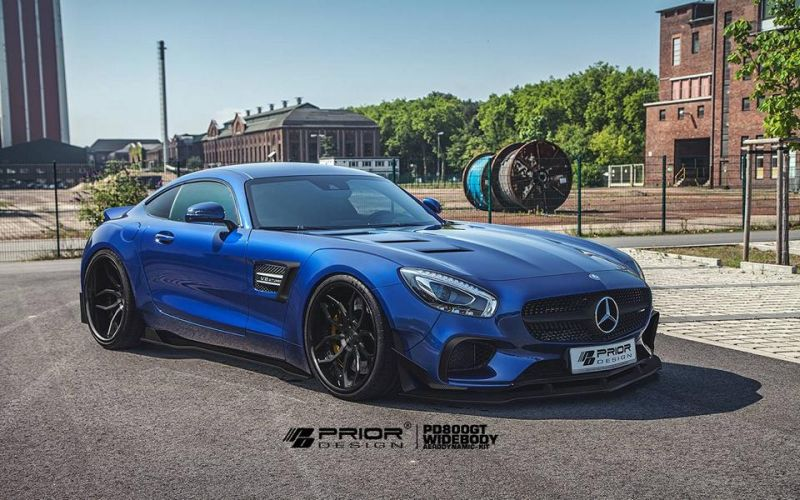 11896413 889716094397349 4933796603899314433 o Macho Auftritt   Mercedes Benz AMG GT S by Prior Design