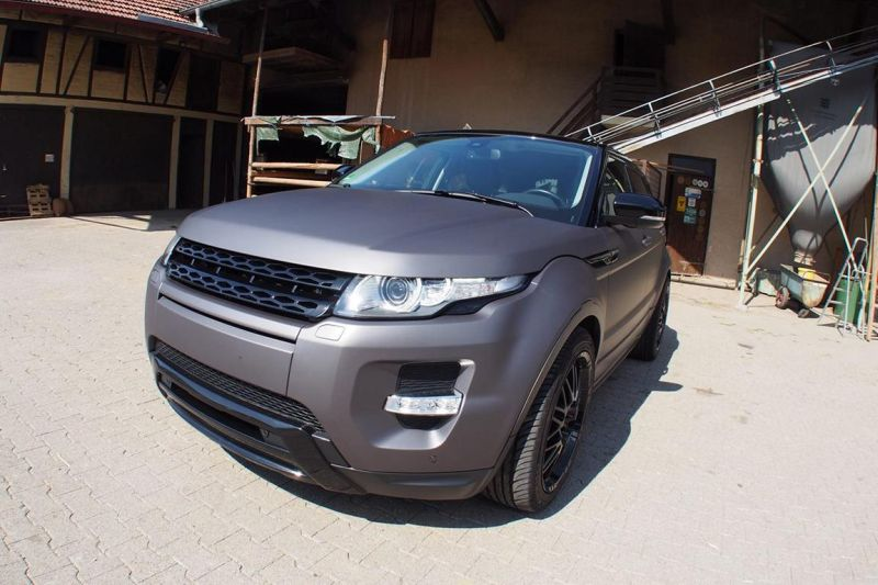 11953492 881346661919178 1533287616270557444 o Range Rover Evoque   Folierung in Mattgrau Metallic