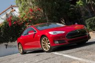 12006443 853829511374466 1937066965376328245 o 190x127 Rot & Gold! Tesla Model S mit 19 Zoll TST Wheels