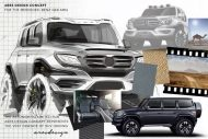 ARES Design Mercedes G63 tuning 6 190x127 Vision   ARES Performance Mercedes G63 AMG Concept