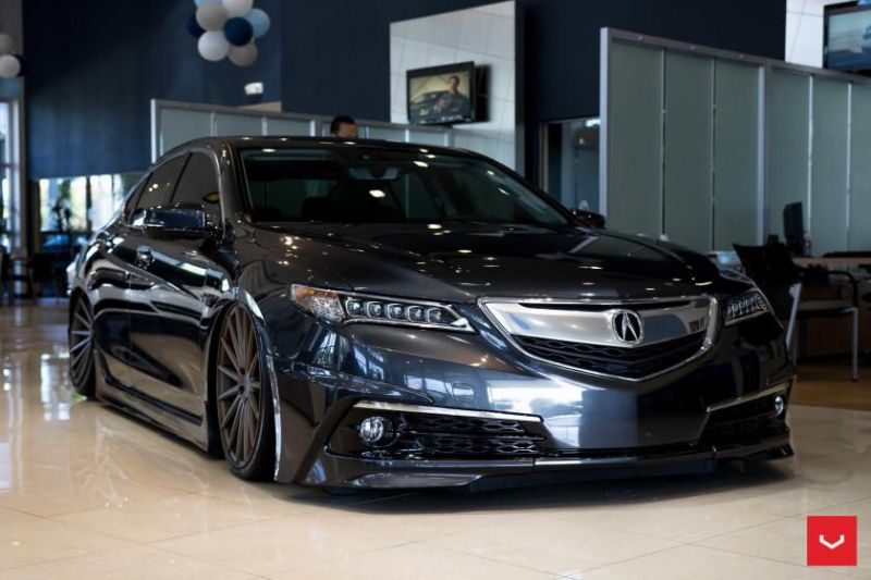 Fotoshow acura tlx mdx tuning mit vossen wheels for Pembroke pines mercedes benz dealership