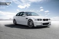 Alpine White BMW E46 M3 Updated With Vorsteiner Wheels 1 190x127 19 Zoll Vorsteiner V FF 103 am alpinweißen BMW E46 M3