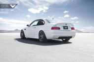 Alpine White BMW E46 M3 Updated With Vorsteiner Wheels 3 190x127 19 Zoll Vorsteiner V FF 103 am alpinweißen BMW E46 M3