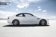 Alpine White BMW E46 M3 Updated With Vorsteiner Wheels 5 190x127 19 Zoll Vorsteiner V FF 103 am alpinweißen BMW E46 M3
