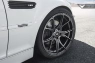 Alpine White BMW E46 M3 Updated With Vorsteiner Wheels 6 190x127 19 Zoll Vorsteiner V FF 103 am alpinweißen BMW E46 M3