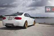 Alpine White BMW E90 M3 on HRE P43SC Wheels 4 1 190x127 Wheels Boutique BMW E92 M3 auf HRE P43SC Felgen