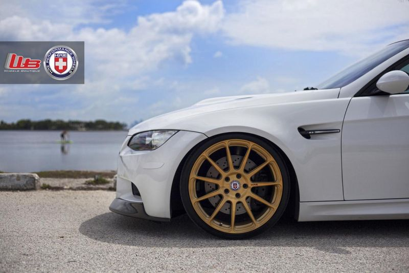 Alpine-White-BMW-E90-M3-on-HRE-P43SC-Wheels-4-2
