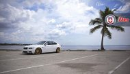 Alpine White BMW E90 M3 on HRE P43SC Wheels 4 3 190x109 Wheels Boutique BMW E92 M3 auf HRE P43SC Felgen