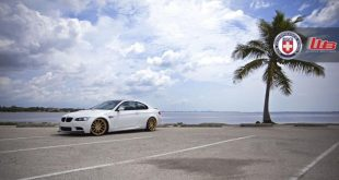 Alpine White BMW E90 M3 on HRE P43SC Wheels 4 3 310x165 Wheels Boutique BMW E92 M3 auf HRE P43SC Felgen