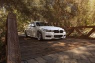 Alpine White BMW F30 3 Series Gets Aftermarket MORR Wheels 1 190x127 19 Zoll MORR Wheels VS55 am BMW F30 3er Series