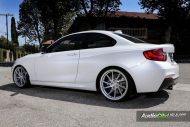 Alpine White BMW M235i Photoshoot 1 190x127 Audio City USA   Tuning am BMW M235i in Weiß