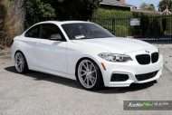 Alpine White BMW M235i Photoshoot 4 190x127 Audio City USA   Tuning am BMW M235i in Weiß
