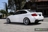 Alpine White BMW M235i Photoshoot 5 190x127 Audio City USA   Tuning am BMW M235i in Weiß