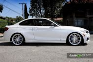 Alpine White BMW M235i Photoshoot 6 190x127 Audio City USA   Tuning am BMW M235i in Weiß