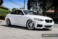 Alpine White BMW M235i Photoshoot 8 190x127 Audio City USA   Tuning am BMW M235i in Weiß