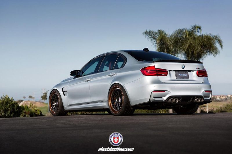 BMW F80 M3 on HRE Classic 300 Wheels 13 BMW F80 M3 auf schicken HRE Classic 300 Wheels