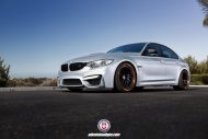 BMW F80 M3 on HRE Classic 300 Wheels 7 190x127 BMW F80 M3 auf schicken HRE Classic 300 Wheels