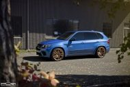BMW X5M On PUR RS01 By PUR Wheels 2 190x127 22 Zoll PUR Wheels PUR RS01 am BMW X5M in Blau