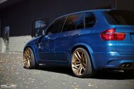 BMW X5M On PUR RS01 By PUR Wheels 4 190x127 22 Zoll PUR Wheels PUR RS01 am BMW X5M in Blau