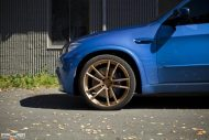 BMW X5M On PUR RS01 By PUR Wheels 5 190x127 22 Zoll PUR Wheels PUR RS01 am BMW X5M in Blau