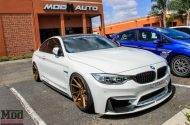 BMW F32 435i Stance Wheels Lip Exh Coils Spoiler White 1 190x125 BMW F32 435i mit Stance Wheels by ModBargains